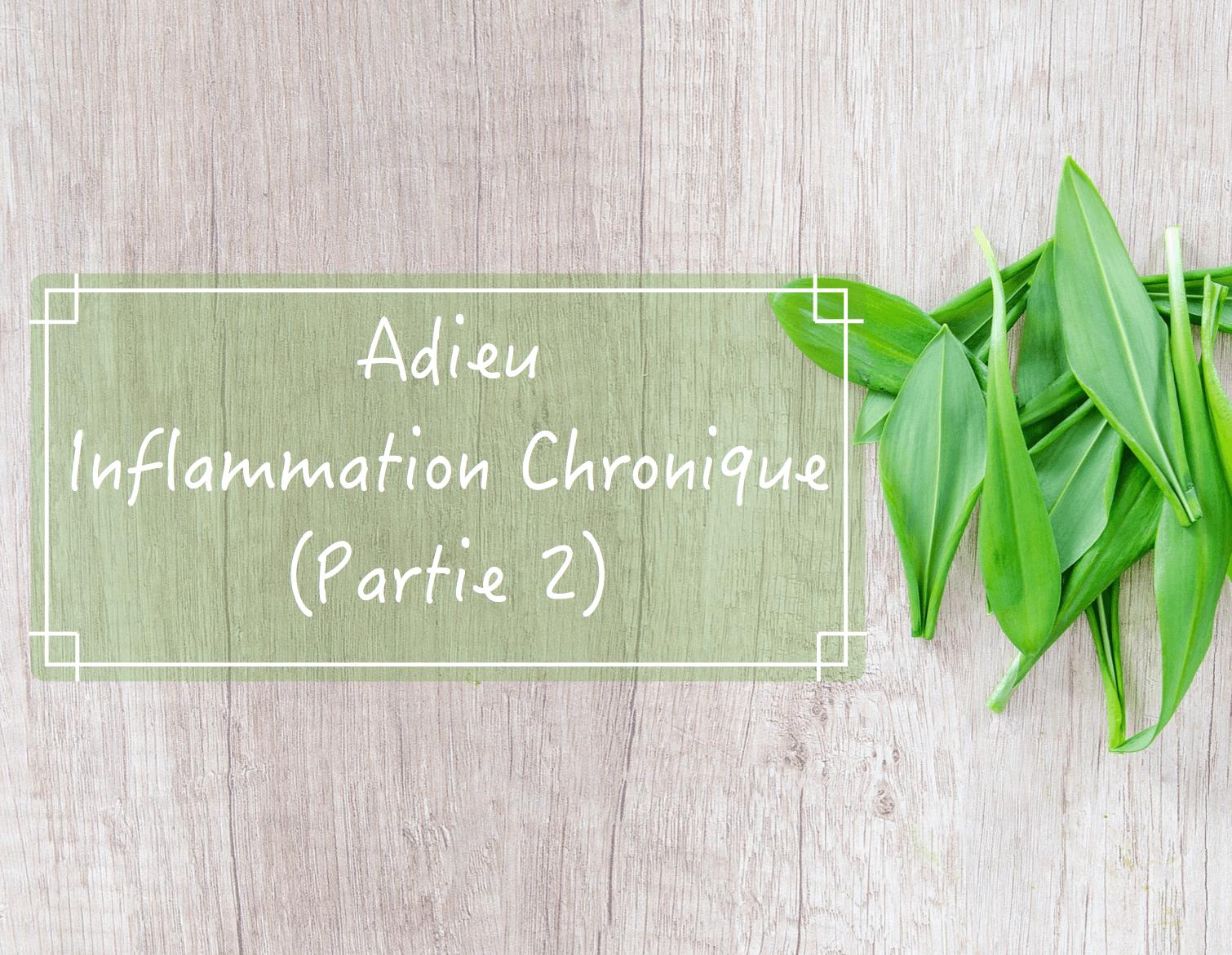 Adieu inflammation chronique (partie 2)